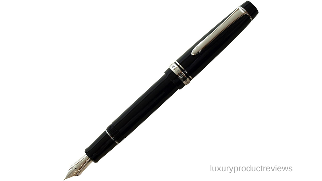 Pilot Fountain Pen Custom 74, FM-Nib, Black Body